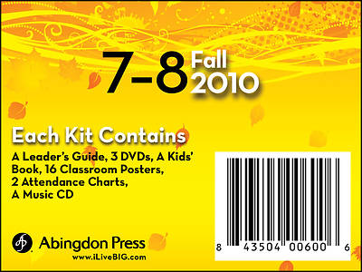 Picture of Live B.I.G. Ages 7-8 DVD Kit Fall 2010