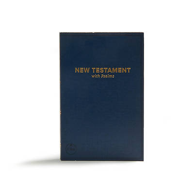 Picture of CSB Pocket New Testament with Psalms, Navy Trade Paper