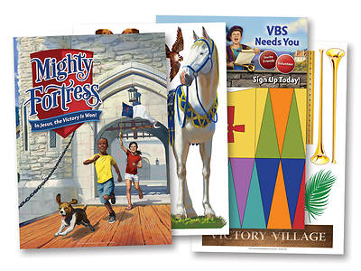 Vacation Bible School (VBS) 2017 Mighty Fortress Mighty Fortress Decor Poster 3/ 43
