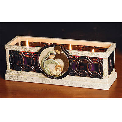 Holy Family Advent Candleholder