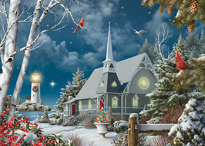 Picture of Guiding Lights Christmas Cards  (Box of 15)