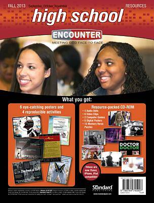 Standard Encounter High School Resources Fall 2013