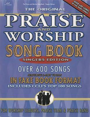 Original Praise and Worship Song Book