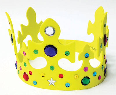 Concordia VBS 2014 EL Rey que viene/The Coming King Spanish Jeweled Foam Crown (Pkg 12)