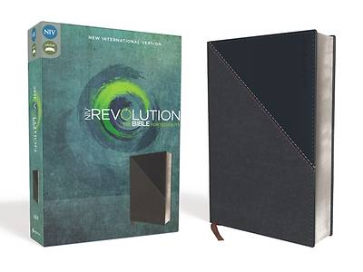 Picture of NIV, Revolution Bible, Imitation Leather, Gray/Navy