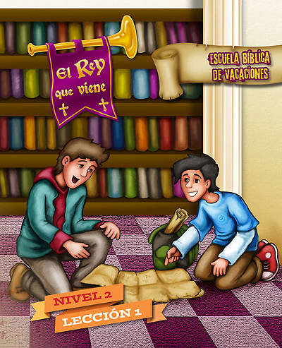 Concordia VBS 2014 El Rey que viene/The Coming King Spanish Level 2 Leaflets (pkg5)