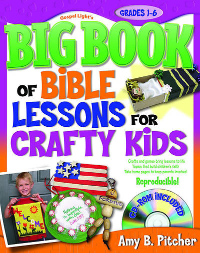 The Big Book of Bible Lessons for Crafty Kids