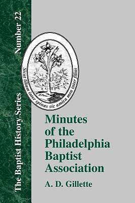 Minutes of the Philadelphia Baptist Association