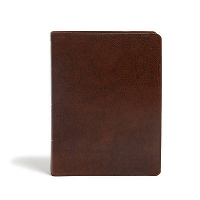 Picture of KJV Study Bible, Full-Color, Brown Bonded Leather, Indexed