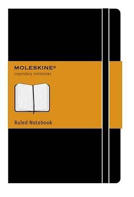 Pocket Notebook Moleskine Ruled - Black