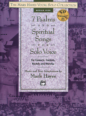 7 Psalms and Spiritual Songs for Solo Voice Songbook (Medium Low Voice)