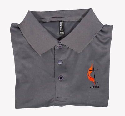Picture of Polo Shirt - 2XL Clergy Cross and Flame