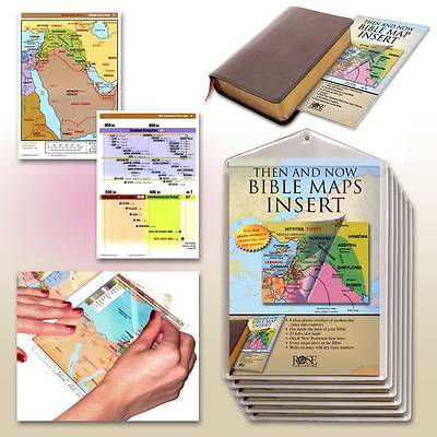 Picture of Then and Now Bible Maps Insert