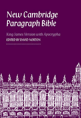 Picture of New Cambridge Paragraph Bible Personal Size Kj590