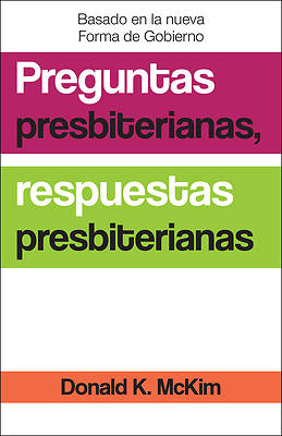 Picture of Presbyterian Questions, Presbyterian Answers, Spanish Edition