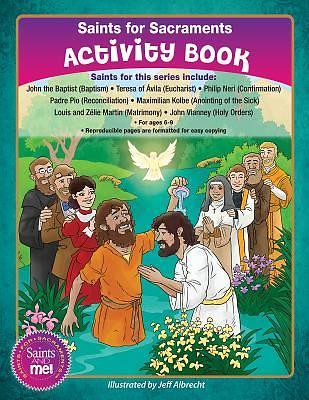 Picture of Saints of the Sacraments Activity Book