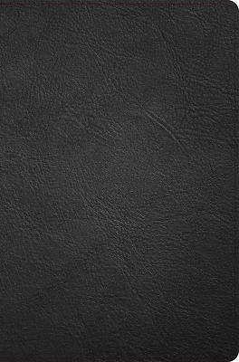 Picture of NASB Giant Print Reference Bible, Black Genuine Leather