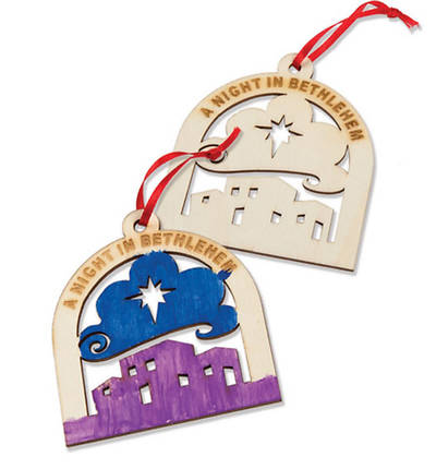Picture of A Night In Bethlehem Christmas Keepsake Ornament (Pack of 10)