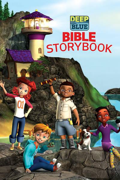 Picture of Deep Blue Bible Storybook