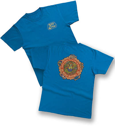 Group VBS 2014 Weird Animals T-shirt Staff-Blue - Adult-Small