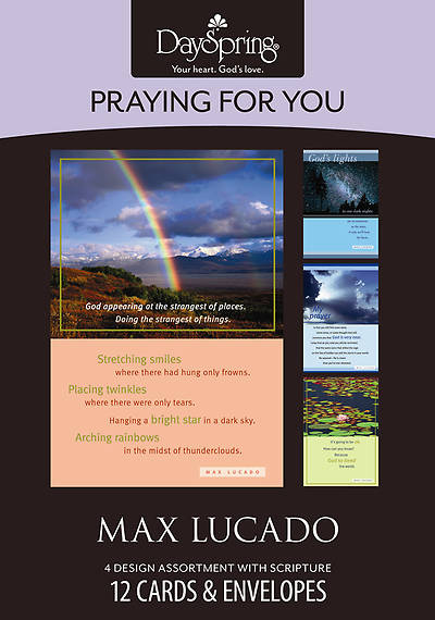 Max Lucado - Praying for You Boxed Cards - Box of 12