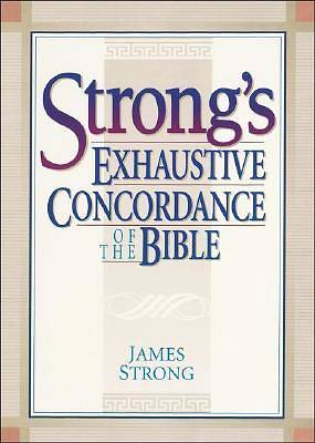 Strongs Exhaustive Concordance of the Bible with CDROM