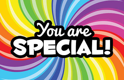 You are Special Postcard - 1 Thess. 1:2
