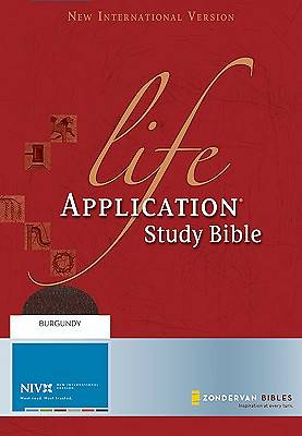 Life Application Study Bible-NIV with CDROM