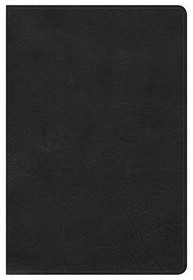 Picture of NKJV Large Print Personal Size Reference Bible, Black Leathertouch, Indexed
