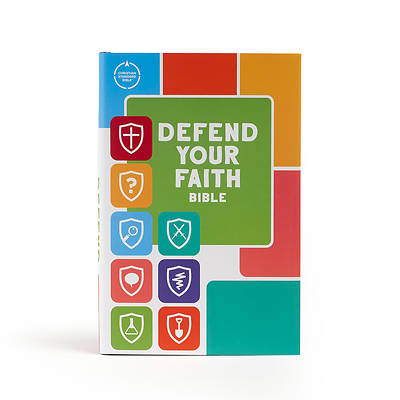 Picture of CSB Defend Your Faith Bible, Hardcover
