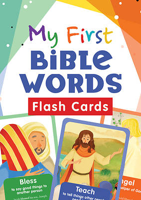 Picture of My First Bible Words Flash Cards