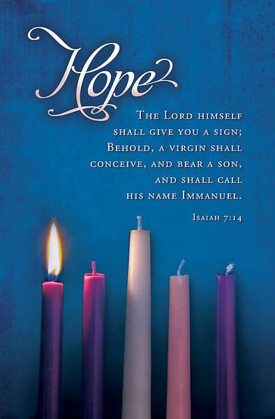 Picture of Advent Bulletin Week 1 Isaiah 7:14 Regular