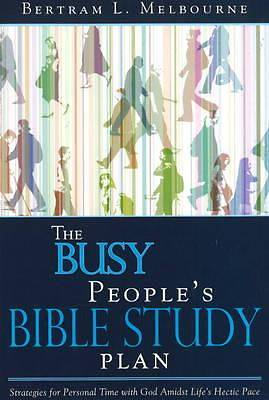 The Busy Peoples Bible Study Plan Journal