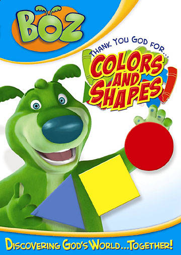 Boz - Thank You God for Colors and Shapes DVD