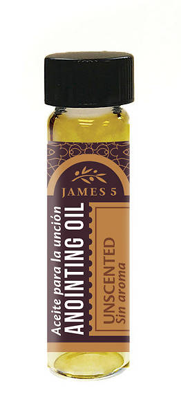James 5 Unscented Anointing Oil 1/4 oz.