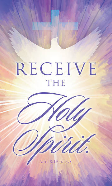 Picture of Receive the Holy Spirit Confirmation Regular Size Bulletin