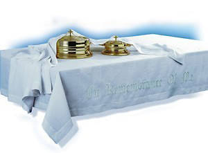 In Remembrance of Me Communion Table  - 50