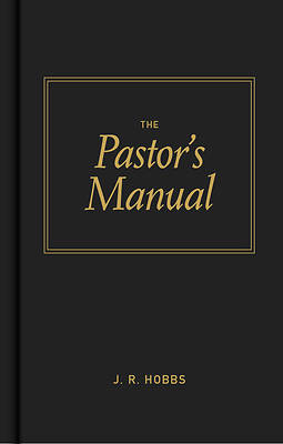 Picture of The Pastor's Manual