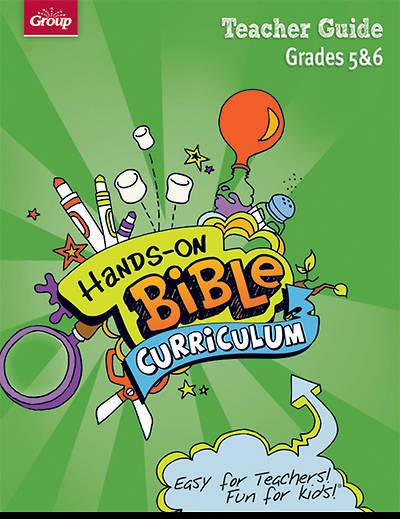 Picture of Hands-On Bible Curriculum Grades 5 & 6 Teacher Guide Winter 2014-15
