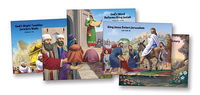 Vacation Bible School (VBS) 2017 Mighty Fortress Bible Story Posters 5 unique 22 x 17
