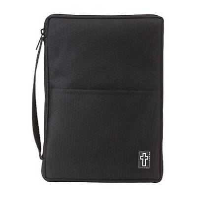 Bible Gear Thinline Canvas Black Medium Bible Cover