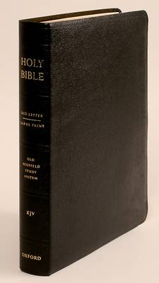 Picture of King James Version Old Scofield Study Bible Large Print