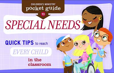 Picture of Children's Ministry Pocket Guide to Special Needs (Package of 10)