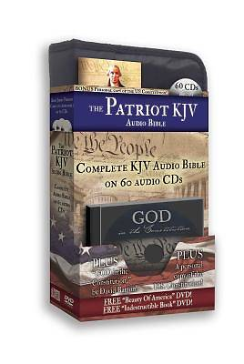 Picture of Patriot Bible-KJV [With Booklet and MP3]