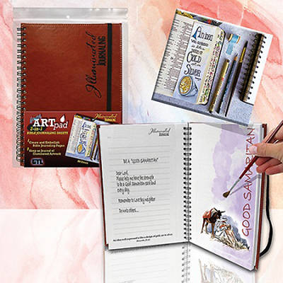 Illustrated Journaling Faith Art Pad