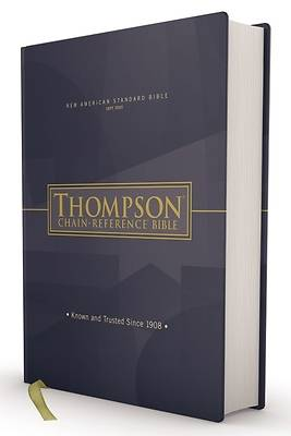 Picture of Nasb, Thompson Chain-Reference Bible, Hardcover, Red Letter, 1977 Text