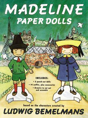 Picture of Madeline Paper Dolls