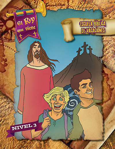Concordia VBS 2014 EL Rey que viene/The Coming King Spanish Level 3 Student Leaflets (pkg 5)