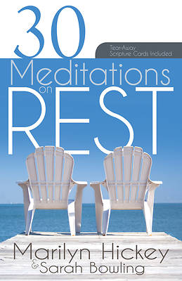 Picture of 30 Meditations on Rest