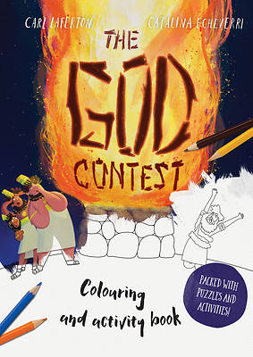 Picture of The God Contest Coloring and Activity Book